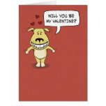 Funny Valentine's Day: Hump Your Leg Greeting Card
