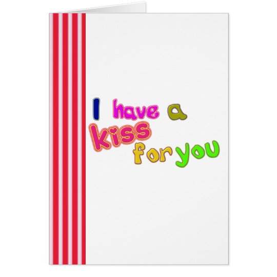 Funny Valentine's day_ kiss Card