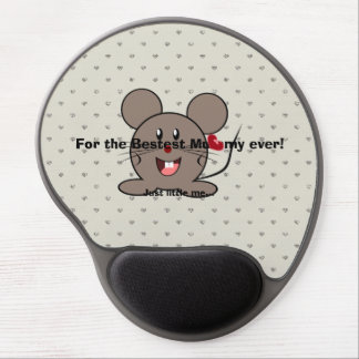 Funny Valentines Day Mouse Gel Mousepad