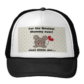 Funny Valentines Day Mouse Hat
