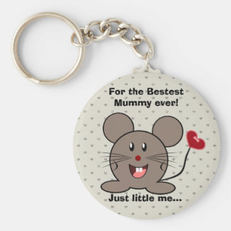 Funny Valentines Day Mouse Key Chains