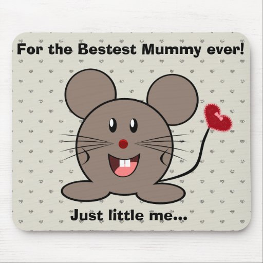 Funny Valentines Day Mouse Mousepads