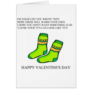 funny valentine's day poem greeting cards