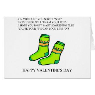 funny valentine's day poem cards