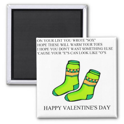 funny valentine's day poem fridge magnets