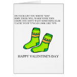 funny valentine's day poem greeting card