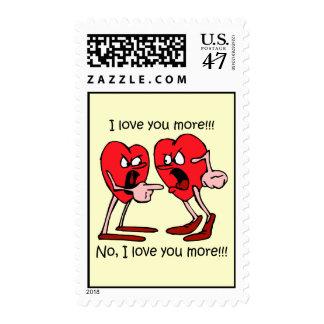 Funny Valentine's Day Postage Stamp