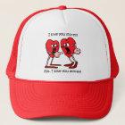 Funny Valentine's Day Trucker Hat