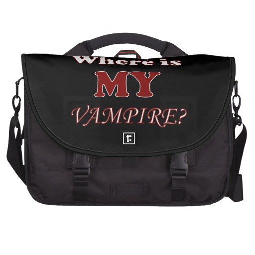 Funny Vampire Boyfriend Humor Bag For Laptop