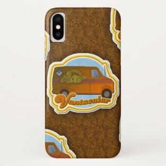 Funny Van Shag Pattern iPhone X Case