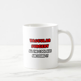 Funny Vascular Surgeon Shirts and Gifts Classic White Coffee Mug