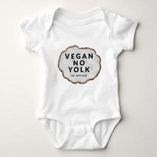 Funny Vegan No Yolk Baby Bodysuit