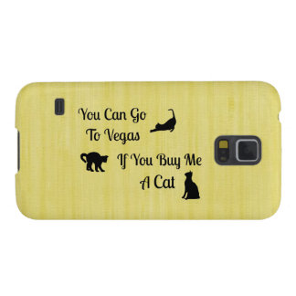 Funny Vegas Cat Samsung Galaxy Case
