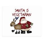 Funny Vegetarian Christmas Postcards