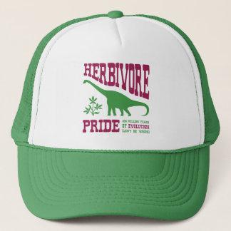 Funny Vegetarian Dinosaur Trucker Hat