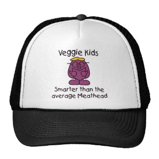 Funny Vegetarian Kids Trucker Hat