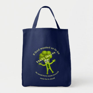 Funny Vegetarian Quote Bag
