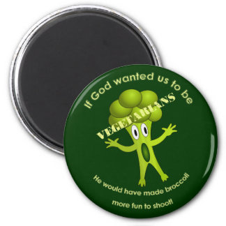 Funny Vegetarian Quote Magnet