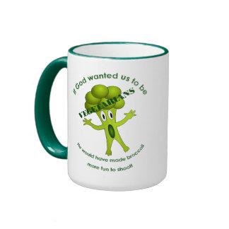 Funny Vegetarian Quote Mug