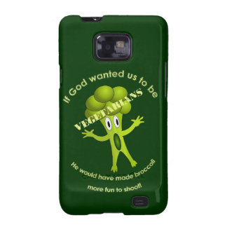 Funny Vegetarian Quote Samsung Galaxy S Case Samsung Galaxy SII Cover
