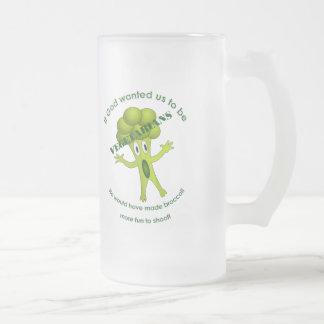 Funny Vegetarian Quote Tall Mug