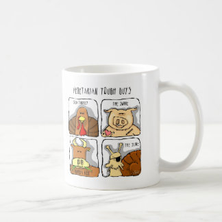 Funny Vegetarian Tough Guys, Animals Mug