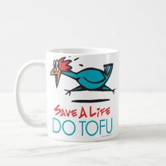 Funny Vegetarian, Vegan DO TOFU Coffee Mug