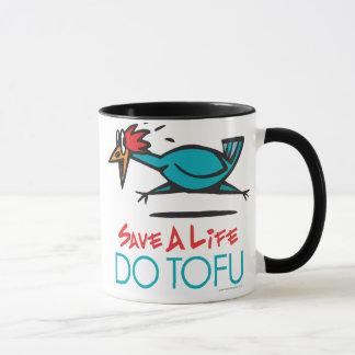 Funny Vegetarian, Vegan DO TOFU Mug