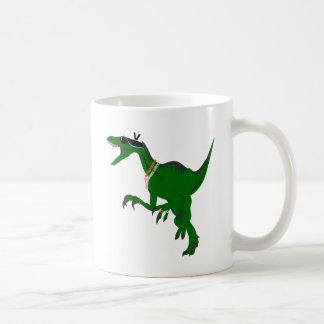 Funny Veloci-Rapper design Classic White Coffee Mug