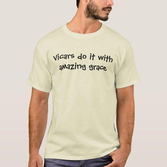 funny vicar saying shirt