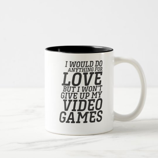 Love Tone Games Player For Two Mug Funny Quote Video Coffee Gamer dWCBrxoe