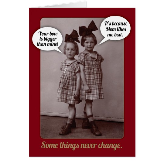 Funny vintage 1920s older sister birthday card zazzle funny vintage 1920s older sister birthday card bookmarktalkfo Image collections