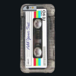 "Funny Vintage 80s Retro Music Cassette Tape Barely There iPhone 6 Case<br><div class=""desc"">A funny vintage 80s retro music cassette tape nostalgia design. A perfect gift for the music lover,  musician,  artist or the old school. A cool retro piece of nostalgia with space to ,  add your text,  lyrics,  favourite song or track,  band or any message.</div>"