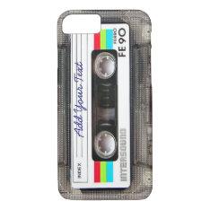 Funny Vintage 80s Retro Music Cassette Tape Iphone 7 Case at Zazzle