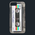 "Funny Vintage 80s Retro Music Cassette Tape iPhone 8/7 Case<br><div class=""desc"">A funny vintage 80s retro music cassette tape nostalgia design. A perfect gift for the music lover,  musician,  artist or the old school. A cool retro piece of nostalgia with space to ,  add your text,  lyrics,  favourite song or track,  band or any message.</div>"