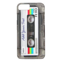 Funny Vintage 80s Retro Music Cassette Tape iPhone 8/7 Case