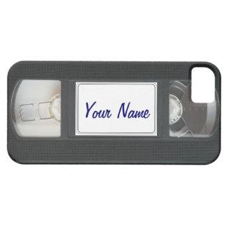 Funny Vintage 80s Retro VHS Cassette Tape iPhone iPhone SE/5/5s Case