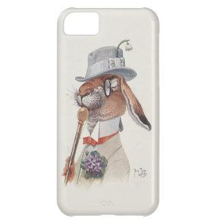 Funny Vintage Anthropomorphic Rabbit iPhone 5C Cases