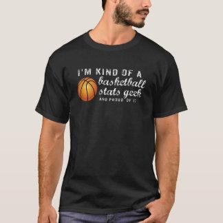 Funny Vintage Basketball Stats Geek Sports Fan T-Shirt