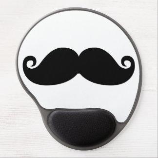 Funny Vintage Black Mustache Gel Mouse Pad