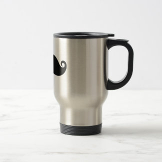 Funny Vintage Black Mustache Mug