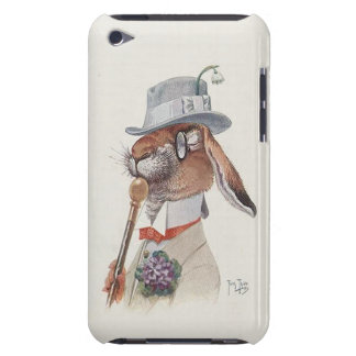 Funny Vintage Bunny Rabbit - Cute iPod Touch Case-Mate Case