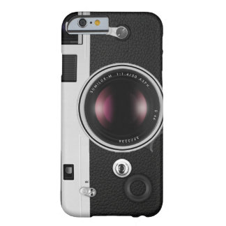 Funny Vintage Camera Cool Pattern Barely There iPhone 6 Case