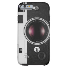Funny Vintage Camera Cool Pattern Tough iPhone 6 Case