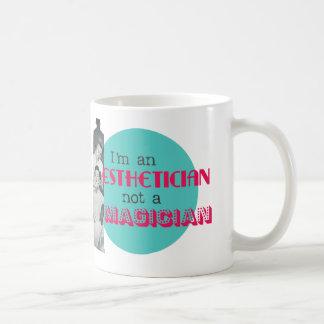 Funny Vintage Esthetician not Magician Coffee Mug