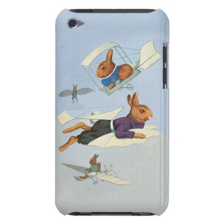 Funny Vintage Flying Rabbits - Anthropomorphism Case-Mate iPod Touch Case