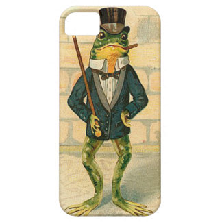 Funny Vintage Frog iPhone 5 Cover