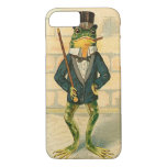 Funny Vintage Frog iPhone 7 Case