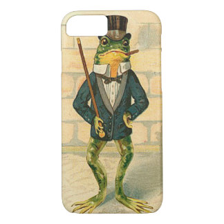Funny Vintage Frog iPhone 8/7 Case