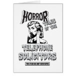 Funny Vintage Horror Movie Card